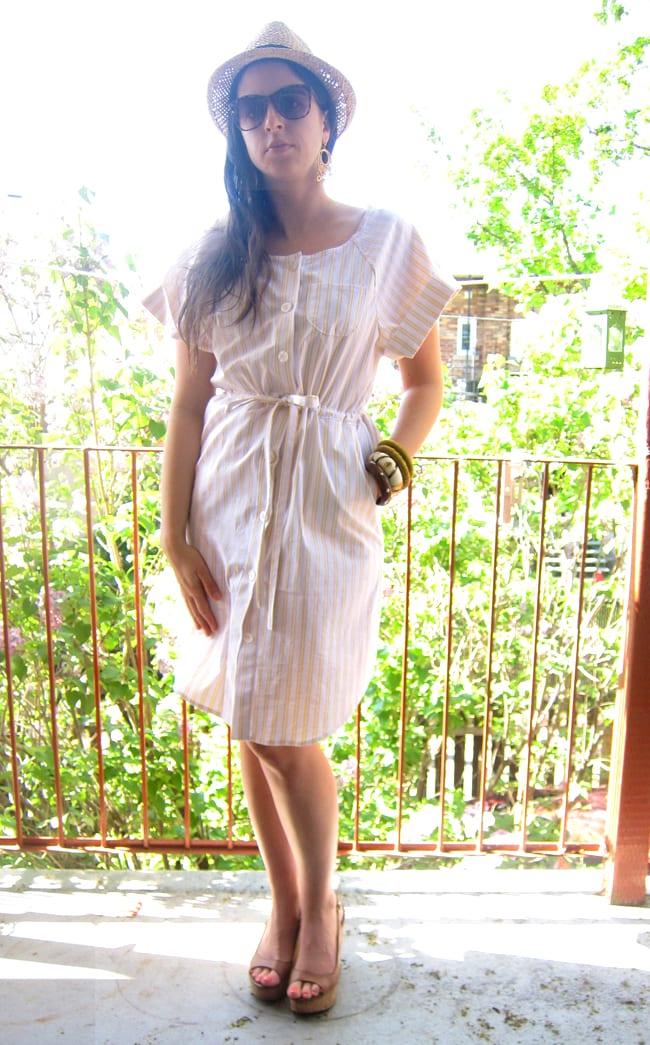 McCalls 6520 Sewing Pattern // Shirt dress pattern // Closet Case Patterns