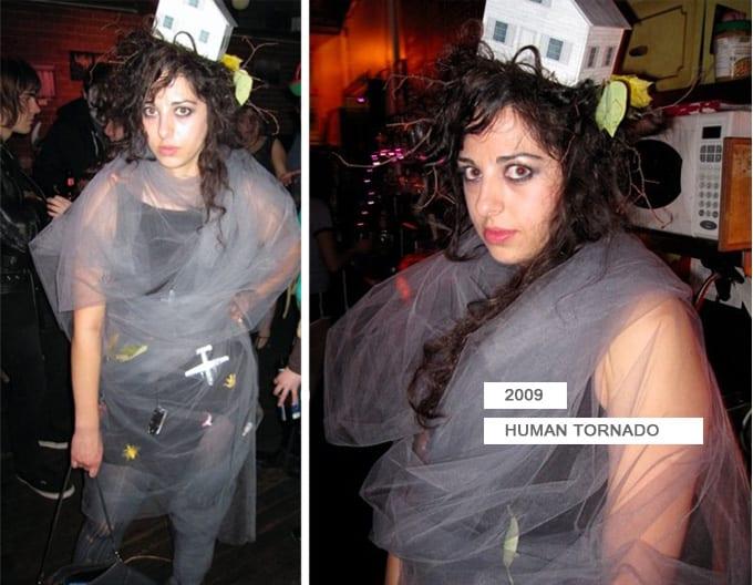 Halloween costume, tornado