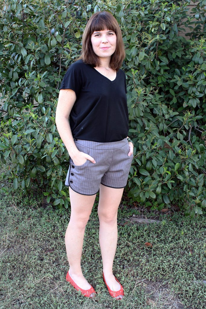 "Dixie DIY and her ""Movies in the Park"" shorts pattern"