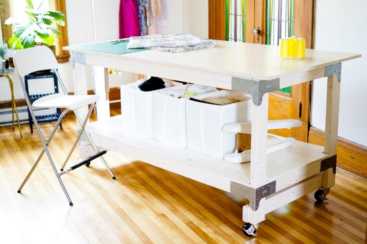 Closet Case Files: Cutting Table DIY