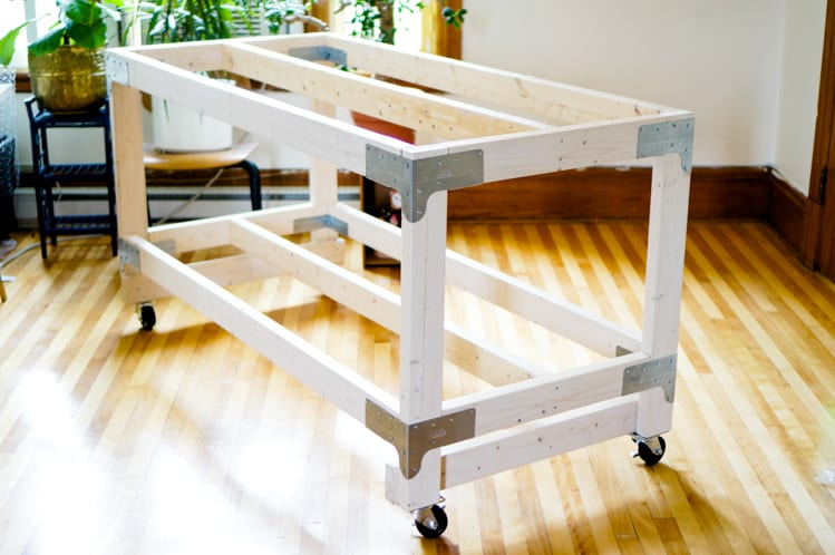 Sewing Amp Cutting Table Diy For Your Craft Or Sewing Studio