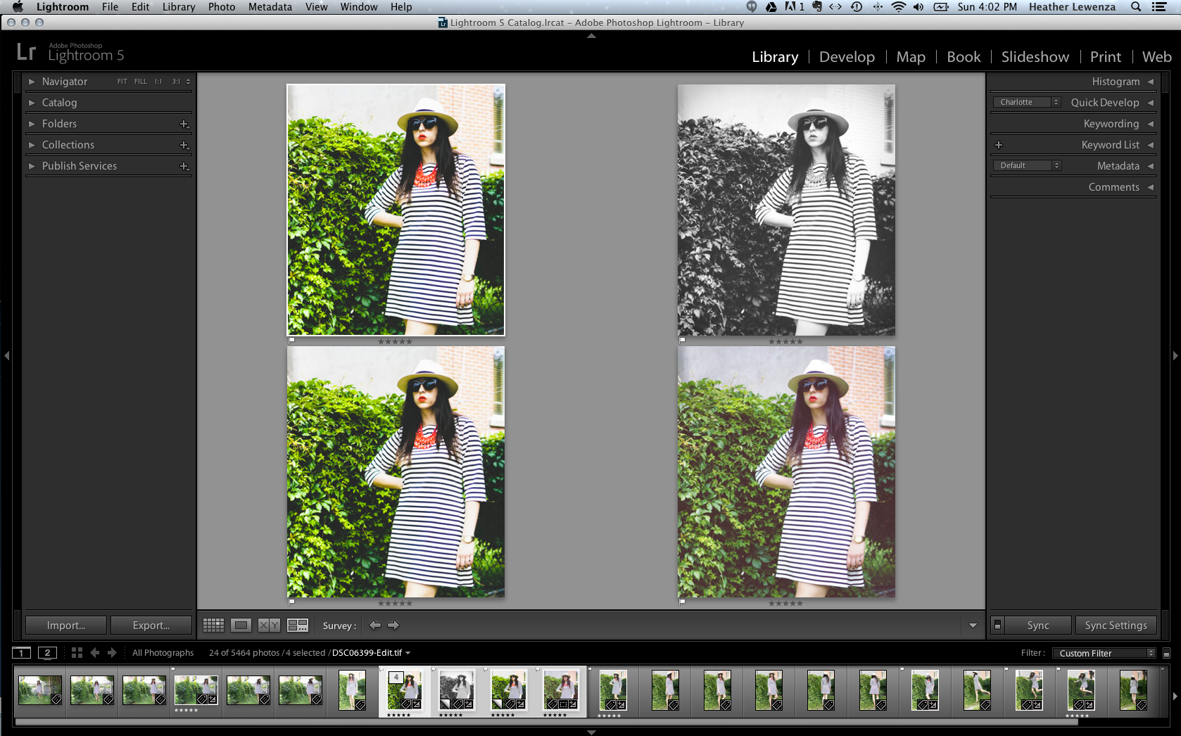 Closet Case Files: Editing photos with Lightroom