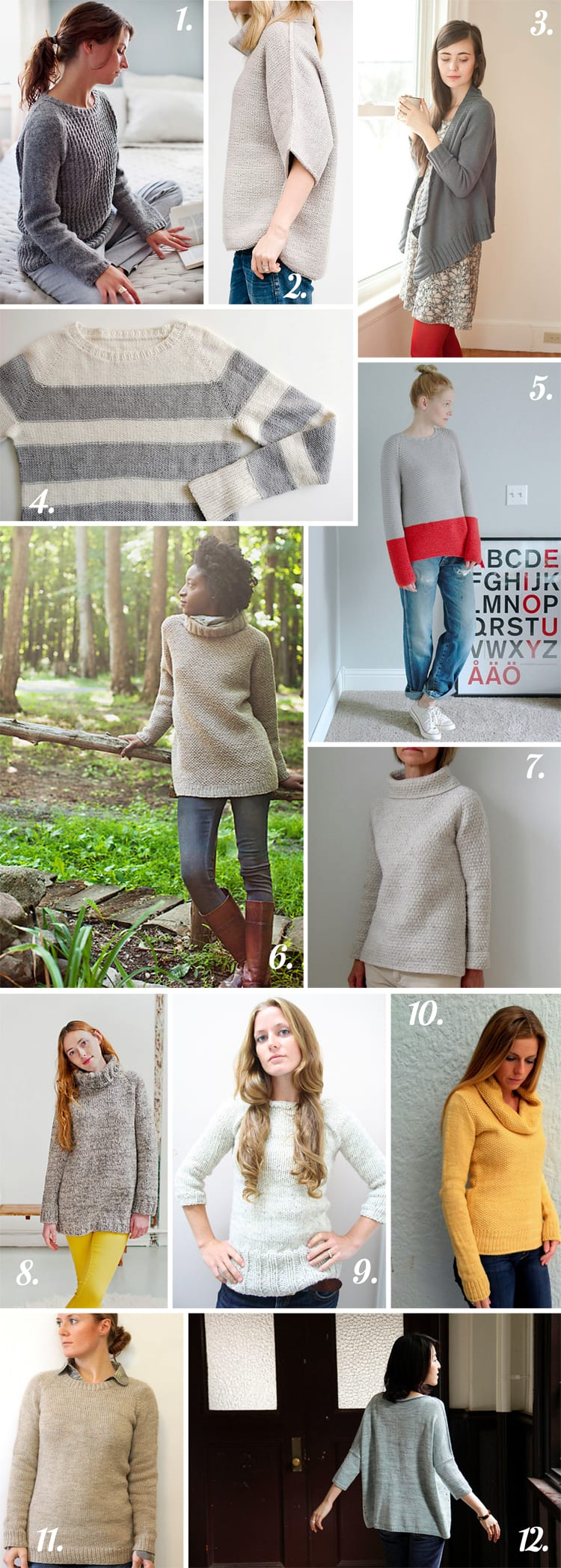 Closet Case Files: Easy Sweaters for fall