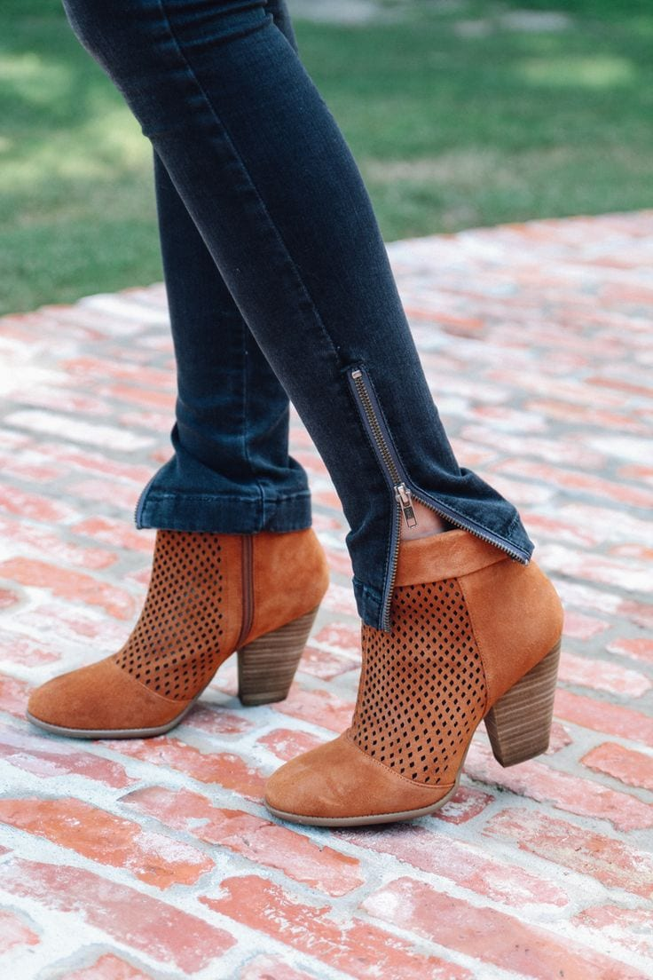 Add ankle zip to Ginger Jeans