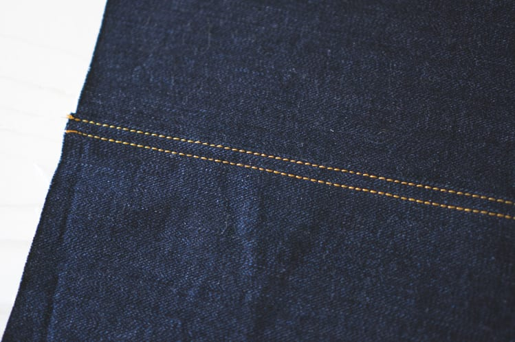 denim stitching