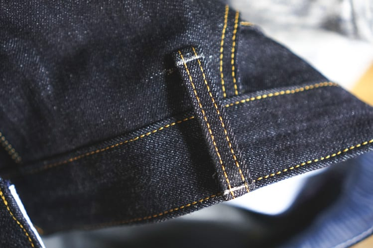 sewing jean belt loops