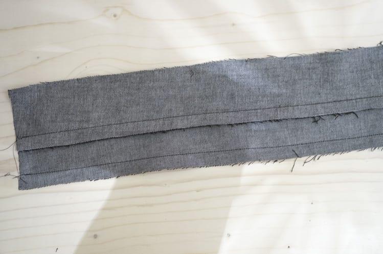 waistband and facing