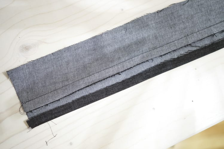 waistband & facing