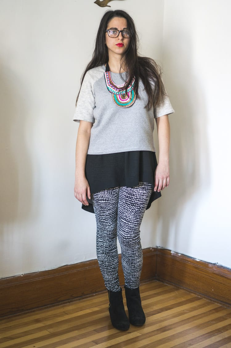 grainline linden sweatshirt DIY