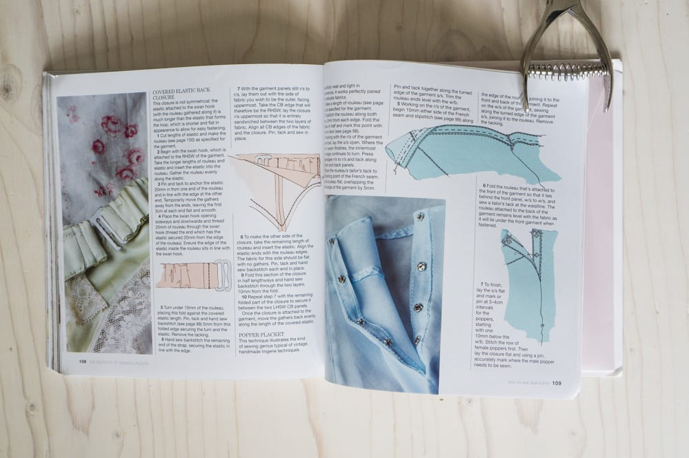 Sewing lingerie book & patterns 4