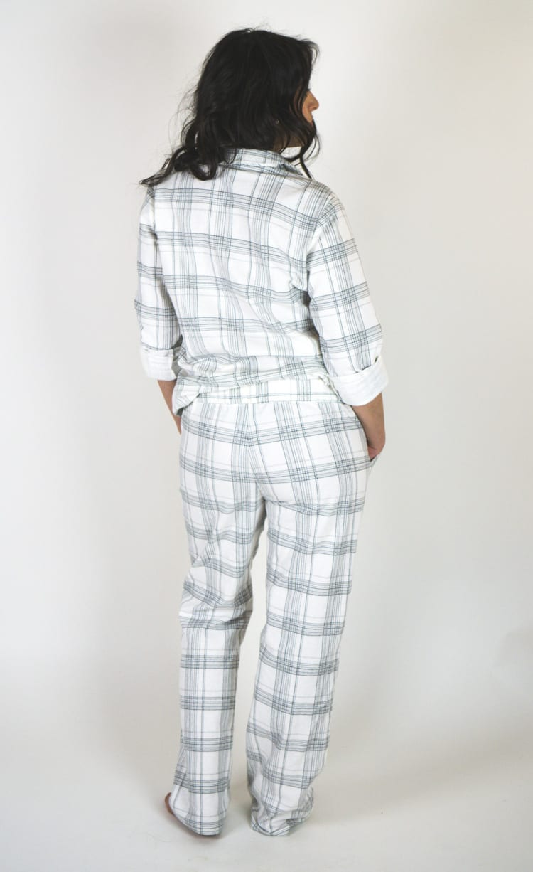 Flannel pajamas - Carolyn Sewing pattern