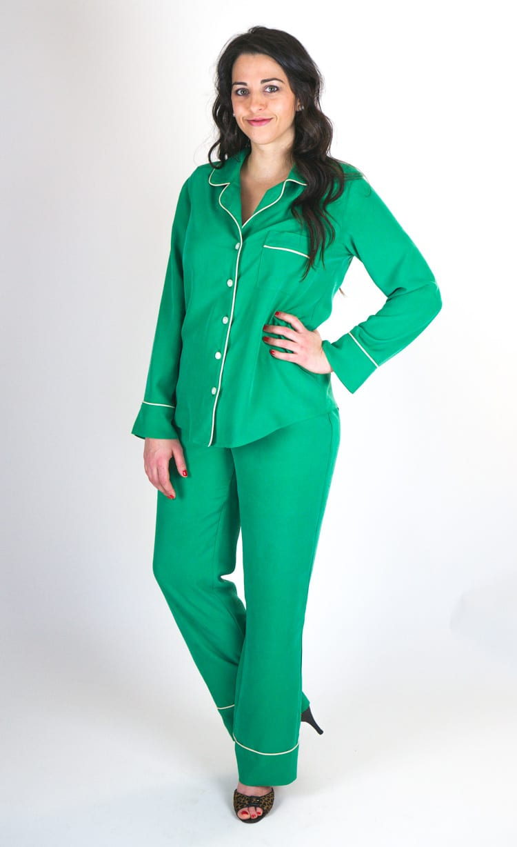 Carolyn Pajamas sewing pattern