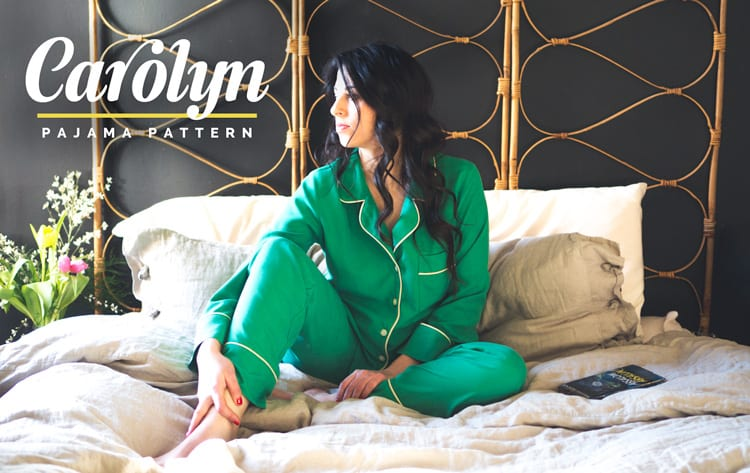 Carolyn Pajamas - PDF sewing pattern
