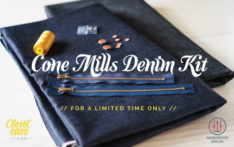 cone mills denim kits