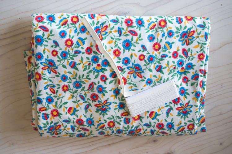 Cotton flannel pajamas fabric