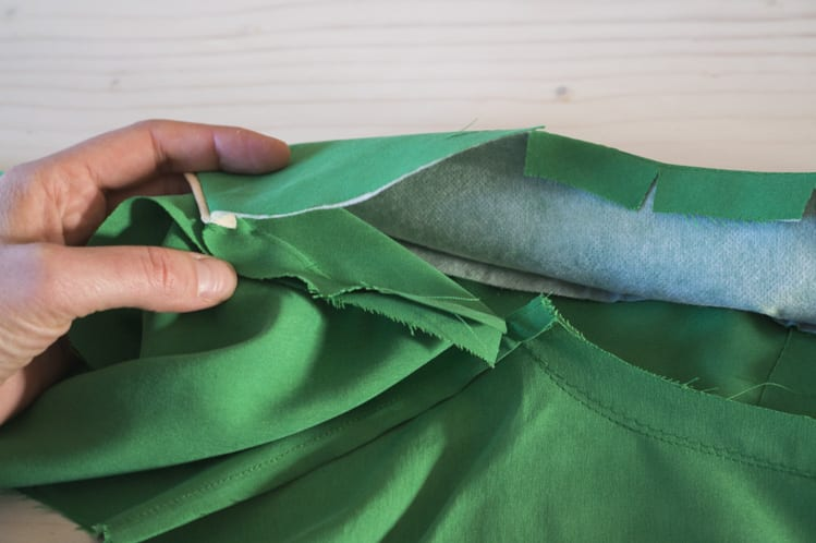 sewing notched collar