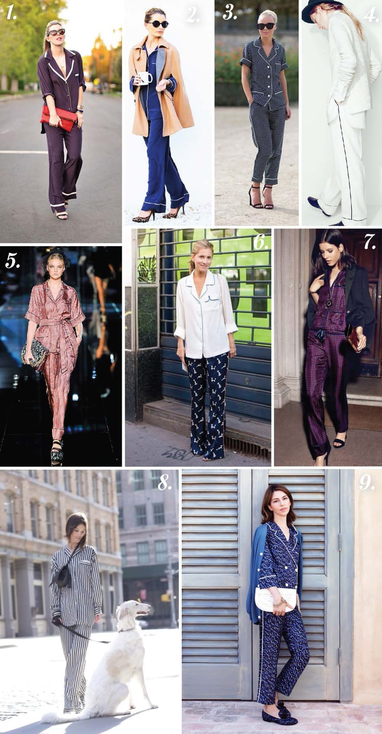 Pajama Dressing Inspiration