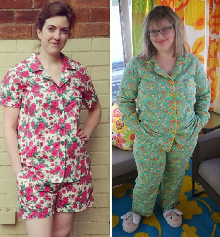 Carolyn pajama pattern