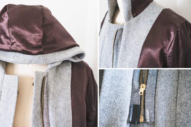 Cascade Duffle Coat Grainline Studio