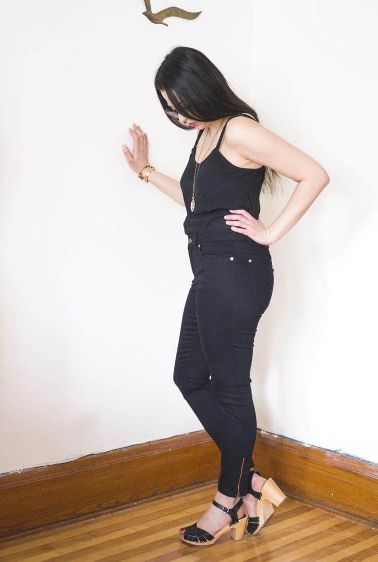 skinny jeans pattern