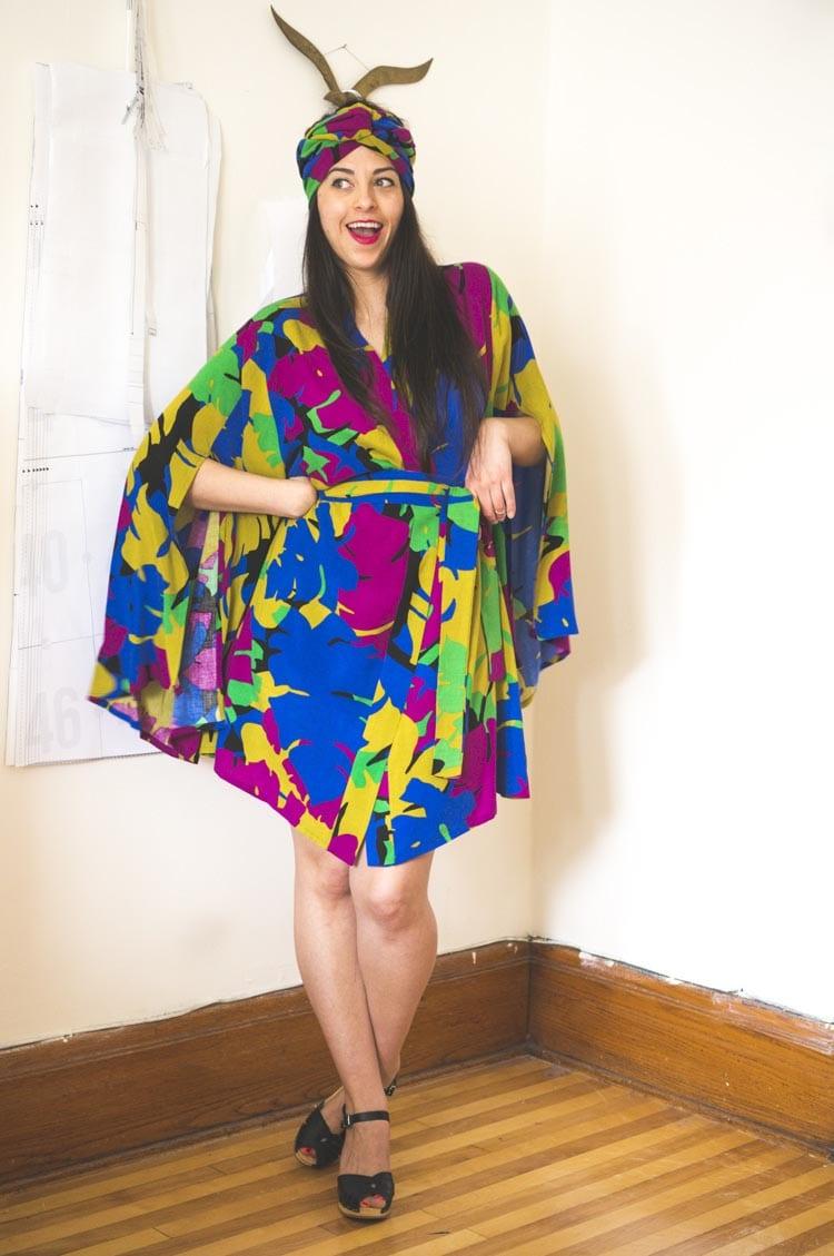 Named Asaka Kimono DIY