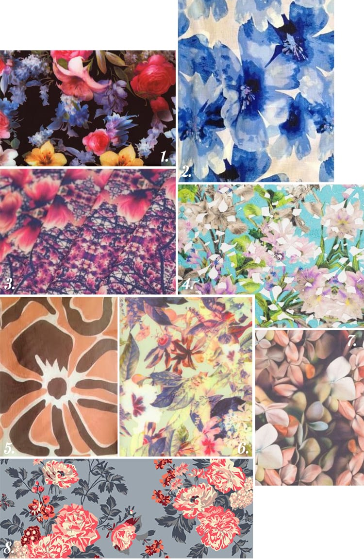 Floral-fabric
