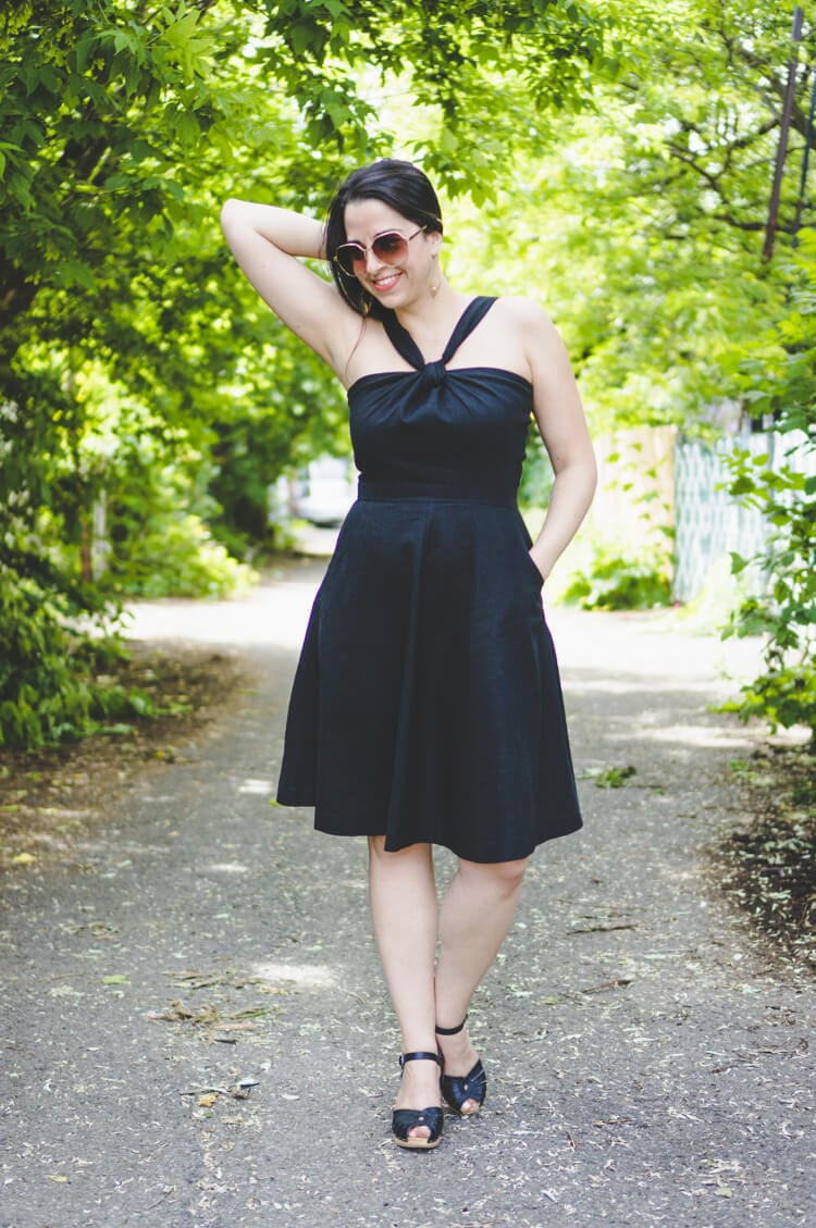 Sewaholic Lonsdale dress sewing pattern