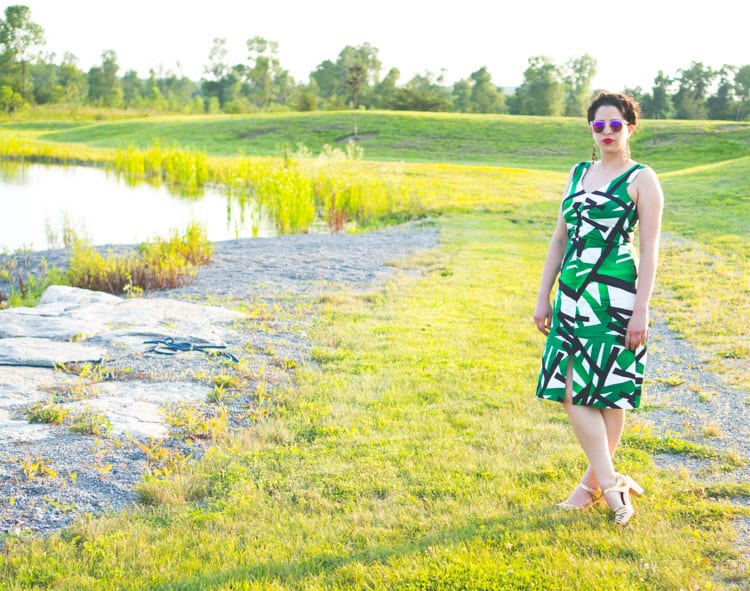 Sophia Dress pattern // By Hand London // Closet Case Files