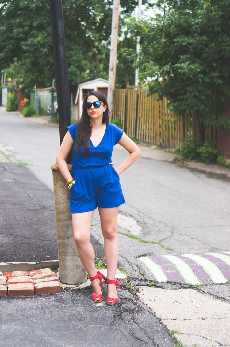 Sallie Jumpsuit Pattern // Romper DIY // Closet Case Files