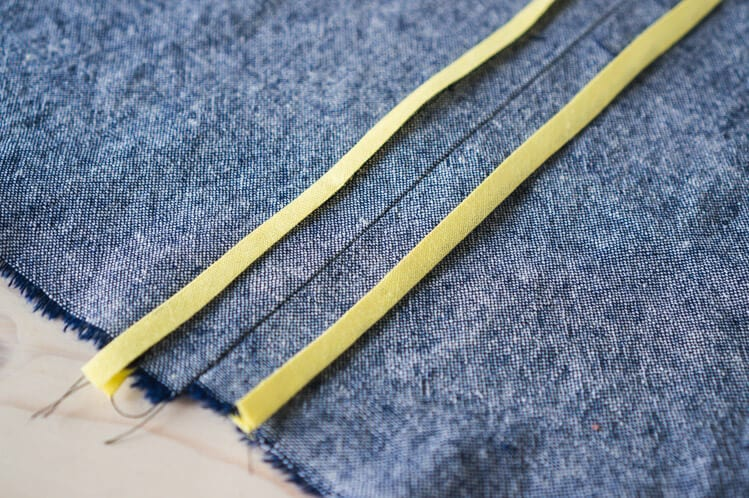 How to sew a bias bound seam // Closet Case Files