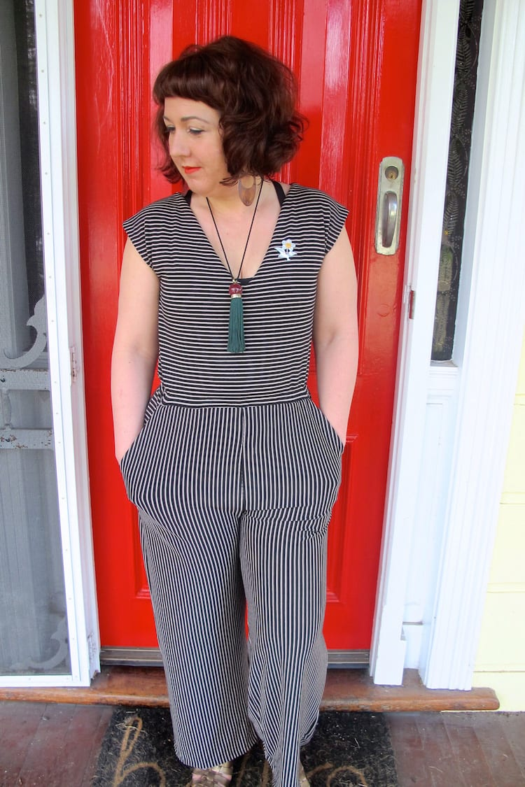 Sallie jumpsuit pattern // Closet Case Files