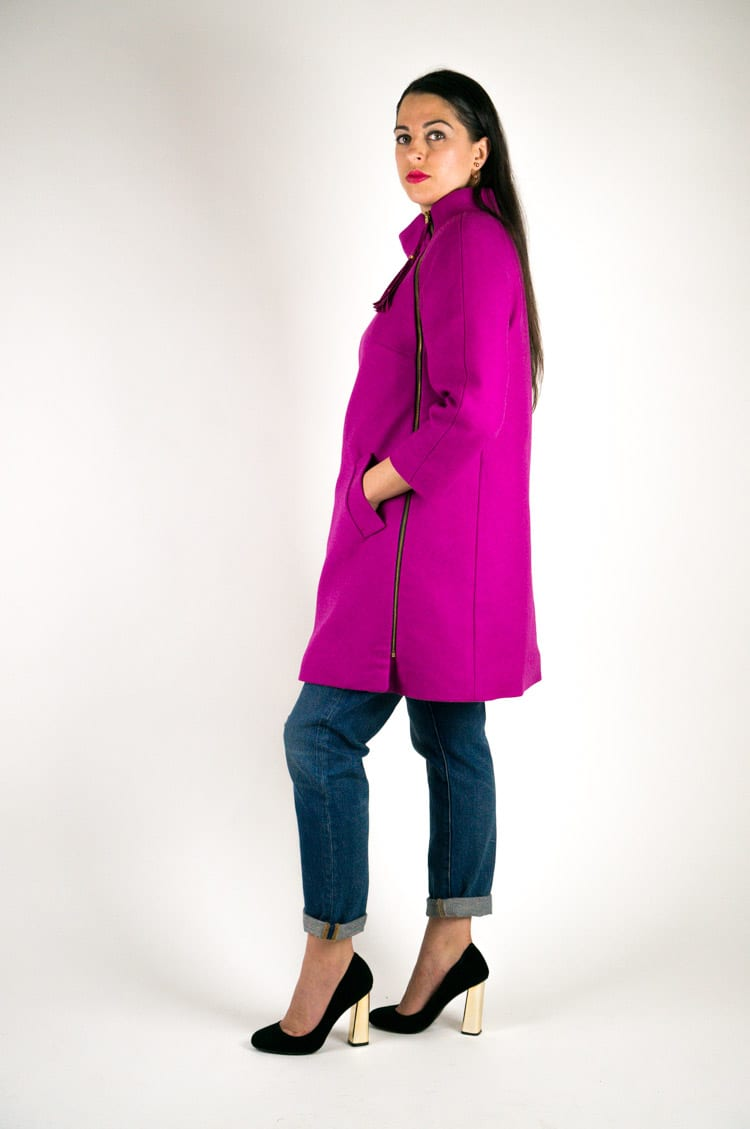 Clare Coat Pattern // View A // Closet Case Files