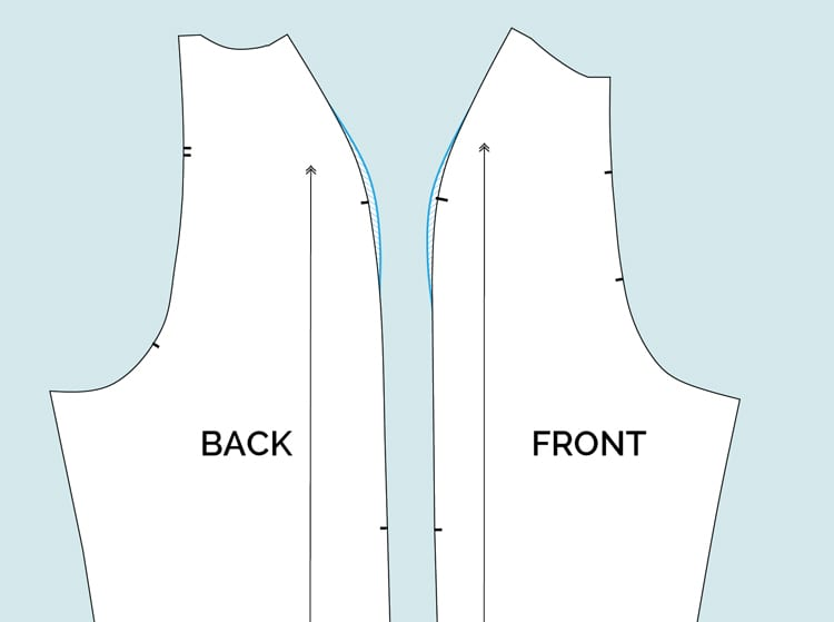 How to fit raglan sleeves with square shoulders // Clare Sewalong // Closet Case Files