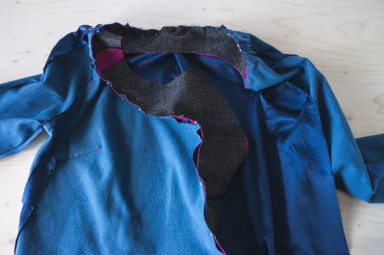 Clare Coat sewalong_Sewing coat lining and facing-15