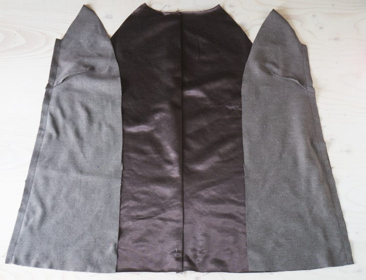 Clare Coat sewalong_Sewing coat lining and facing-26