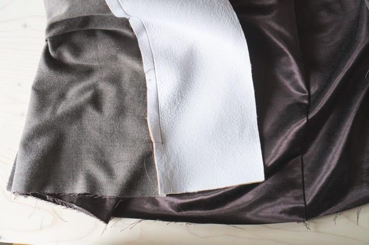Clare Coat sewalong_Sewing coat lining and facing-32