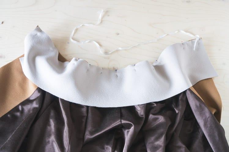 Clare Coat sewalong_Sewing coat lining and facing-38