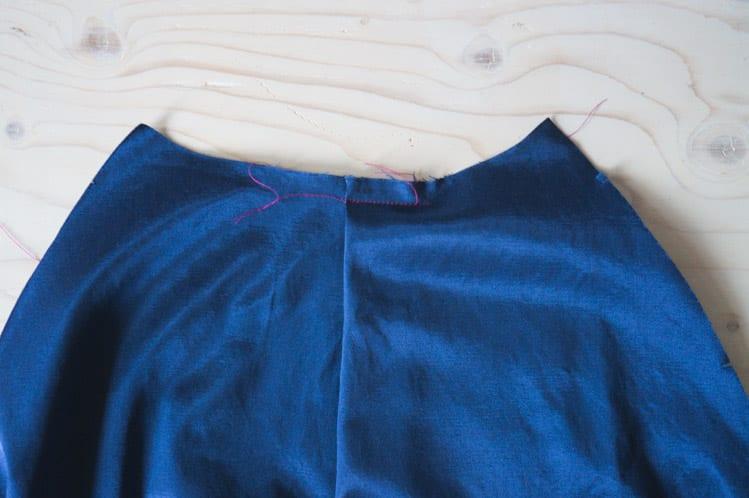 Clare Coat sewalong_Sewing coat lining and facing-6