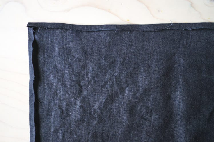How to sew napkin with mitered corners1