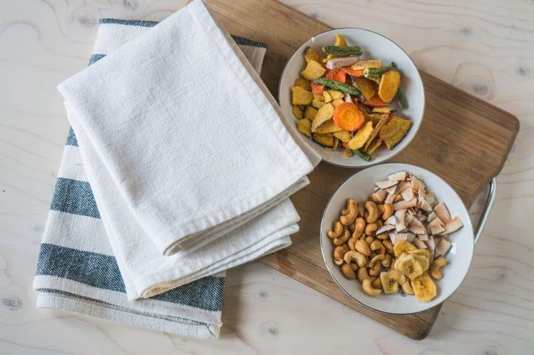 How to sew napkins & tea towels-19