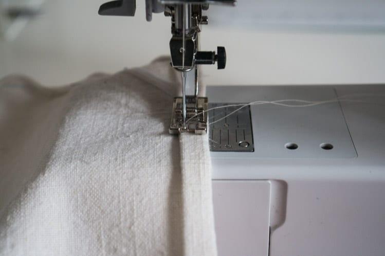 How to sew napkins & tea towels-4