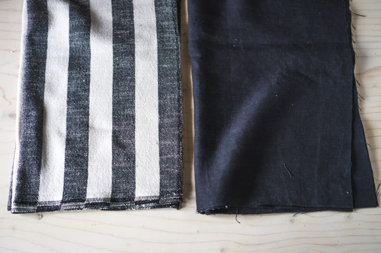 How to sew napkins & tea towels