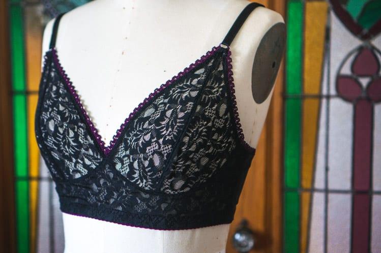 Black lace Watson bra-3