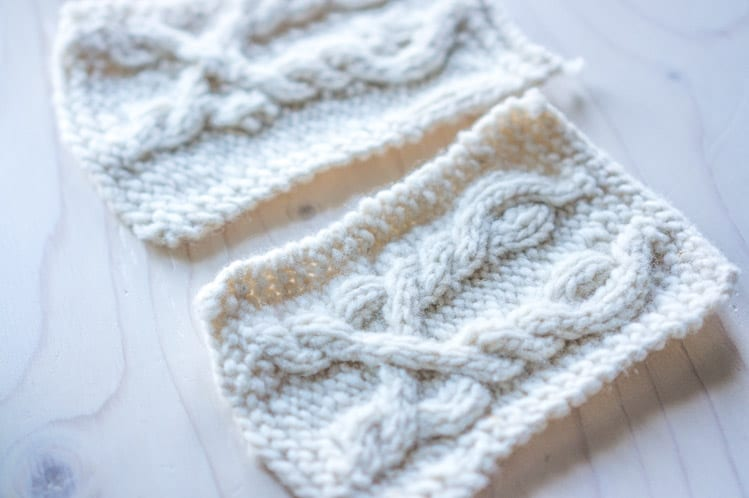 Knitting a gauge swatch // Snoqualmie Knitalong // Closet Case Files