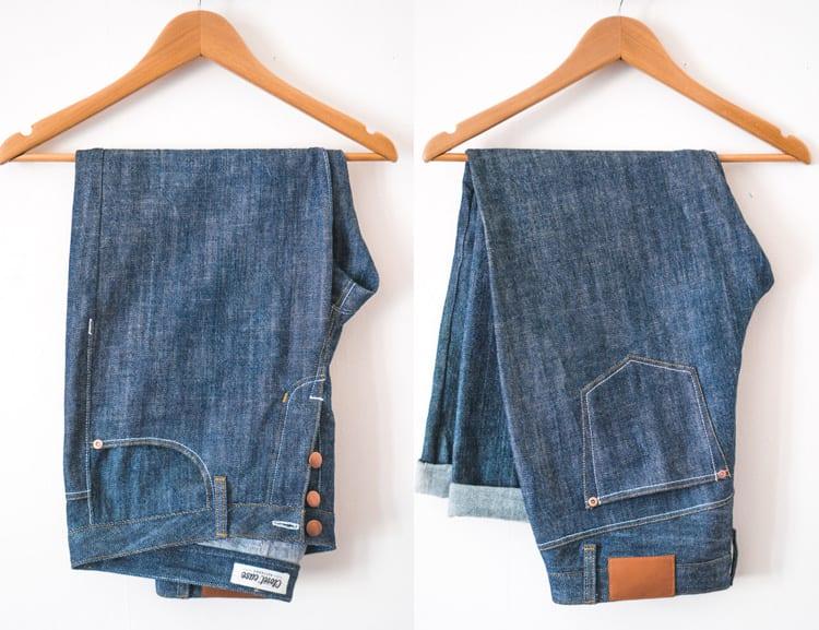 Morgan Boyfriend Jeans sewing pattern // Closet Case Files