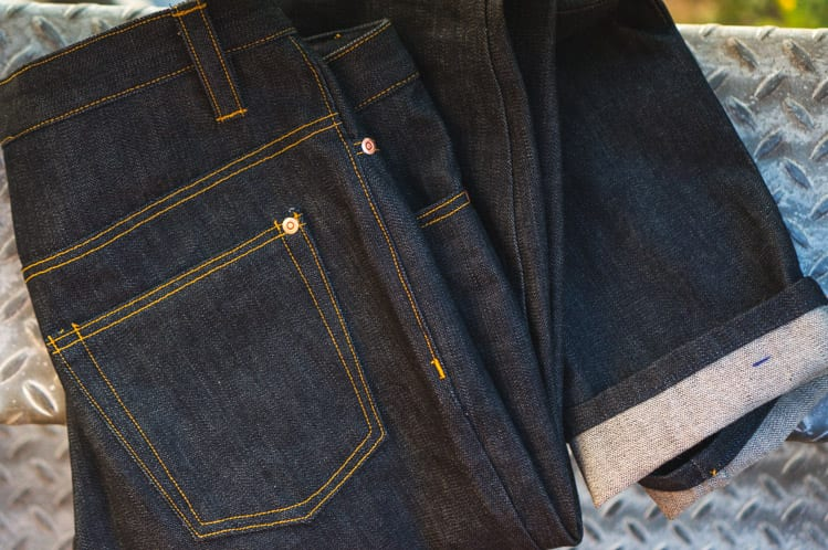 Sewing jeans for men // Jedidiah Pants pattern - Jeans hack // Closet Case Files