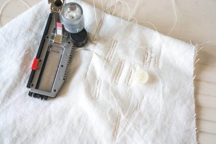 How to sew buttonholes-8