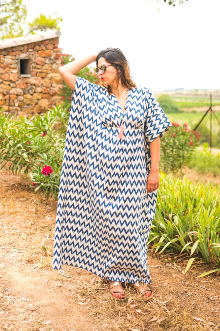 Caftan sewing pattern_Simplicity 5315