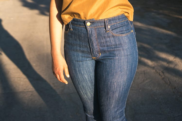 Ginger Jeans Pattern usinG Italian denim // Closet Case Files