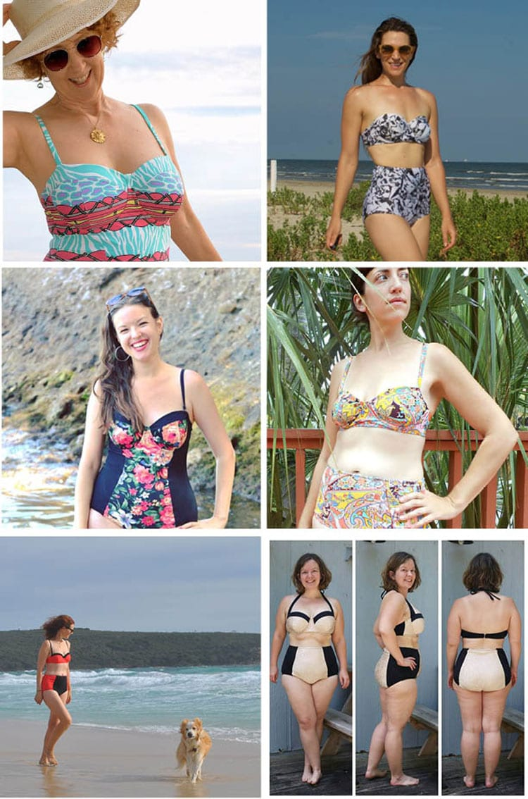 Sophie Swimsuit Pattern Instagram Roundup